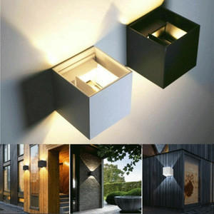 Wholesale Brand New Modern W LED Wall Indoor Outdoor Sconce Lighting Lamp Fixture Garden Home Household Wall Lamp Nordic Style