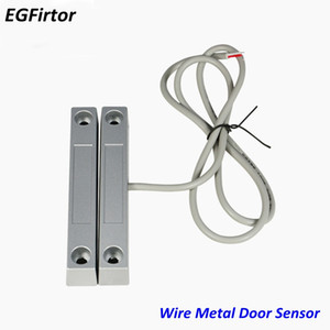 Wholesale Factory Products Price Wire Metal Roll Door Window Sensor Magnetic Contact Reed Switch Sensor For Home Alarm System