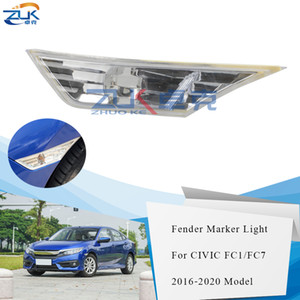 Wholesale honda civic fender resale online - ZUK Side Turn Signal Light Fender Maker Lamp For HONDA CIVIC FC1 FC7 th Generation OEM TET H01 TET H01