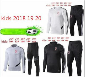 Wholesale 2019 new kids soccer Long sleeve training suit shirt uniform best quality customize Long sleeve football shirts training suit