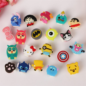 Wholesale Cartoon USB Cable Data Line Protector Earphone Headphones Line Saver anti breaking For Mobile Phones Tablets Charging Cord For iPhone xs max