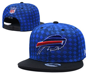Wholesale Buffalo New Colors Collection Era Bill Football Hat Fifty Chapeau Sunhat Fashion Street Football Cap Snapback Casquet