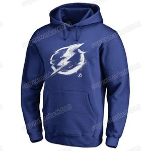 #91 Steven Stamkos Men's Tampa Bay Lightning Hockey Hoodies Brand Black Bluse Gray 18 19 Sport long Sleeve Outdoor Jackets printed Logos on Sale