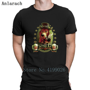 Wholesale short ale for sale - Group buy Irish Setter Red Ale Tshirt Hip Hop Designer Sunlight Natural Tshirt For Men Popular Solid Color Euro Size S xl Cute