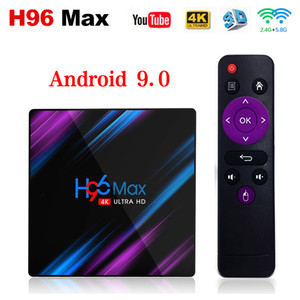H96 Max Android 9.0 TV Box 2G16G 4G32G 4G64G RK3318 Dual WIFI Newest Smart TV BOX IPTV Box