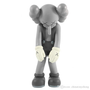 Wholesale 16 or 30cm Inch Originalfake Dissected bff small lie passing throught Companion Figure Fashion Kaws Toys Original Fake in printed opp bag