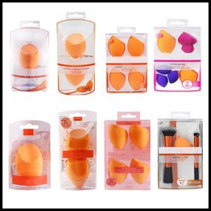 Makeup Egg Sponge Set Beauty Foundation Blending Sponge, For Liquid, Cream, and Powder, Multi-colored Makeup Sponges