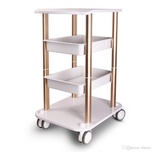 High Quality Assembled Steel Frame Stable Trolley Cart Stand Tray For RF Cavitation IPL Laser Salon Spa Use Beauty Machine