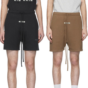 FOG Essentials Shorts FEAR OF GOD 3M Reflective Sweat Shorts Mens Casual Sweatshorts Joggers Harem Shorts Hip Hop Skateboard Streetwear