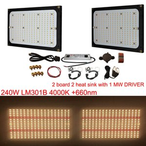 Wholesale Super Bright W W Led Grow Light Quantum Board Full Spectrum K K K nm Mwell Driver DI