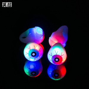 Wholesale toy big eyes for sale - Group buy Luminous finger lamp LED luminous eye Halloween luminous ring directly sold by children s toy manufacturers