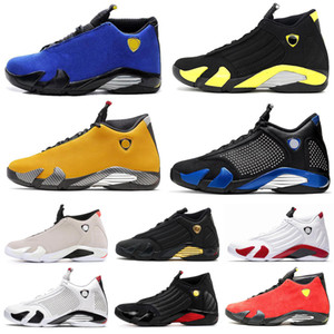Wholesale Fashion s Desert Sand Black Toe Fusion Varsity Red Suede Thunder Men Basketball Shoes Varsity Royal DMP Candy Cane Sneakers