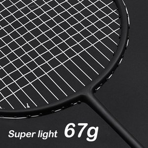 Wholesale Ultralight Strung U g Professional Carbon Badminton Racket Bag String Light Weight Racquet LBS Nanoray Z Speed Force