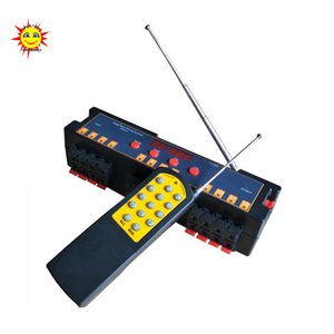 Wholesale CE passed cues programable wireless remote control fireworks firing system for wedding party event