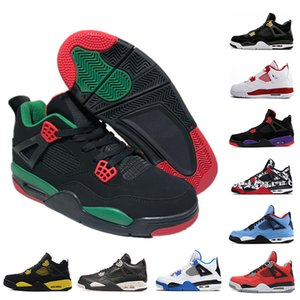 Wholesale New s Basketball Shoes Black Green Raptors Single day Tattoo cactus jack Motosports fashion mens Suede Sports trainers sneakers