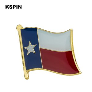 U.S.A Texas Flag Lapel Pin Flag Badge Lapel Pins Badges Brooch XY0195