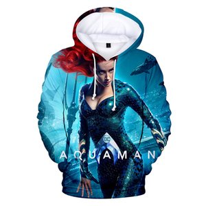 ATTOP 2018 High Quality Sweatshirt Hoodie New Movie Sea King 3d Printing Men And Women Plus Size Velvet Hooded Children's Wear