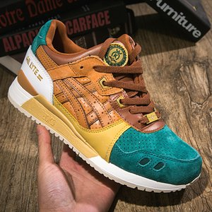 Wholesale Asics x Afew x Beams GEL LYTE III Men Running Shoes Original Asics Best Quality Women Designer Shoes Sport Sneakers