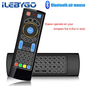 Bluetooth Mini Wireless Keyboard Remote Control Ir Air Mouse For Amazon Fire Tv fire Stick android Tv mi Box pc raspberry Pi 3 T190628