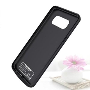 Wholesale Mobile Phone mah Power Banks Case Battery Charger For Samsung S8 Battery Charging Case in stock free DHL