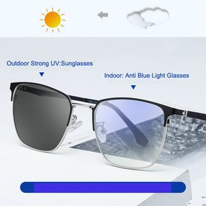 Wholesale blue light filter resale online - 2020 Anti Blue Light Glasses Women Blocking Filter Reduces Eyewear Strain Clear Computer Photochromic Sunglasses Men Polarized