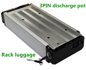 48V 21AH 1500W Rack Luggage Ebike battery for Electric Bicycle Electric bike with charger USA EU Free ship no tax