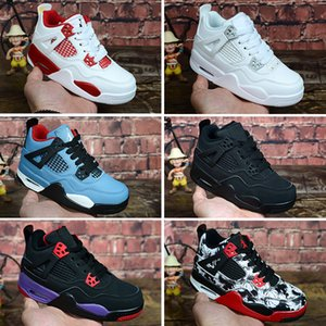 Wholesale Designer Kids Basketball Shoes Children Toddler Outdoor Sports Gym Red Chicago Boy Girls s Basket Ball Pour Enfants Athletic Sneakers
