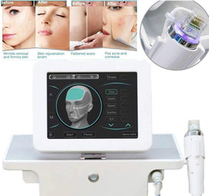 Fractional RF Microneedle Face Care Gold Micro Needle Skin Rollar Acne Scar Stretch Mark Removal Treatment Professional Beauty Salon Machine