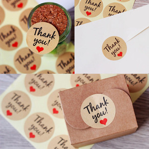 Wholesale 120Pcs Novelty quot Thank You quot Craft Packaging Seals Gold Sealing Sticker Label Gift Party Invitations Cards Seal paste