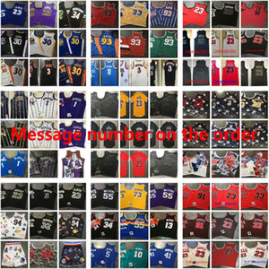 Wholesale AuthenticStitched Jerseys Top Quality Mens Men Man College Yellow White Green Blue Purple Ncaa Jersey Cheap Wholesale Free Shipping
