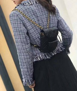 Wholesale Fashion Women Lambskin Backpack travel purse Letter Diamond Lattice School bags have dust bag Chains School Bags wallet shoulder bags