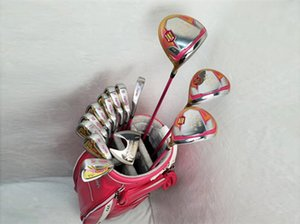 Wholesale Women Honma S Full Set Honma S Golf Clubs Driver Fairway Woods Irons Putter Graphite Shaft With Head Cover