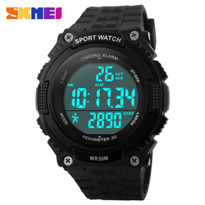 Timesmart men's sports waterproof electronic watch outdoor cycling watch step Watch