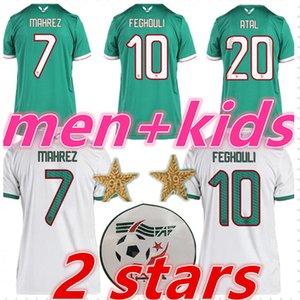 Wholesale algeria jersey mens designer t shirts kids 2019 2020 football kits MAHREZ BRAHIMI Algeria soccer jerseys football shirt maillot de foot
