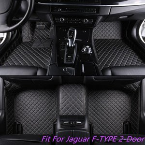 Wholesale Luxury Colors Waterproof Fit All Weather Non slip Leather Car Floor Mat For Jaguar F TYPE Door