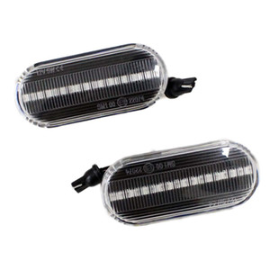 Wholesale for VW Bora Golf 3 4 Lupo Passat 3B Polo6N Sharan Vento T5 SEAT FORD Side Marker LED turn signal Light Fender Lamps 1 Pair