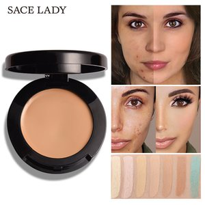 Wholesale SACE LADY Face Concealer Cream Full Cover Make Up Waterproof Facial Contour Makeup Corrector Pores Eye Dark Circles Cosmetic