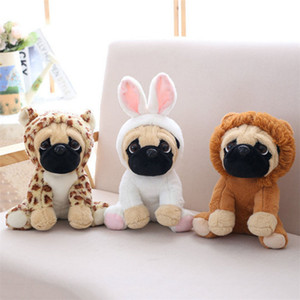 Wholesale 2019 Plush Toy Animal Puppy Doll Wedding New Gift Grab Machine Doll Kids Birthday Christmas Gift for Boys and girls