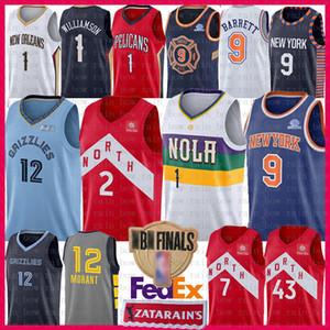3c61121cc NCAA Kawhi 2 Leonard Jersey Youth Mens 1 Zion Williamson 12 Ja Morant 9 RJ  Barrett Pascal 43 Siakam Kyle 7 Lowry college Basketball Jerseys