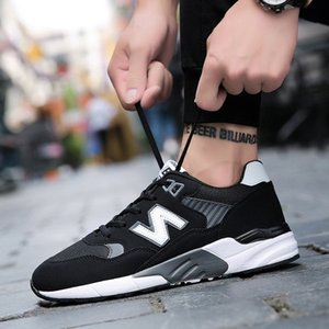 gym Fashionable breathable mesh sweat-absorbing and odor-proof hot-selling sports running shoes in autumn Z-Korean version of fashionable le