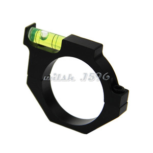 Wholesale Tactical Military Water Bubble Level Ring for mm mm Riflescope Tubes Balance Holder Mount Rail Hunting Accessory