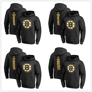 Wholesale 2019 Stanley Cup Playoffs Boston Bruins Hoodie Patrice Bergeron Backes David Pastrnak Brad Marchand Hockey Mens Designer Hoodies Printed