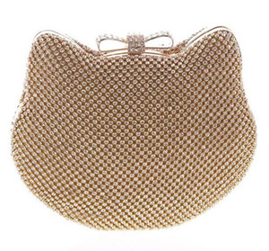 Wholesale New style shell female clutch bag dinner bag Japanese style banquet bag fashion diamond package