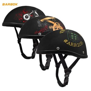 Wholesale WOSAWE Motorcycle Helmet Retro Moto Scooter Breathable UV Protection Men Women cm Head Safety Racing Caps Half Face Helmet