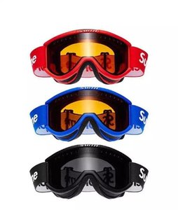 Goggles Cariboo OTG sup Ski Goggle Goggles Black and Blue New on Sale