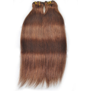 YAHLIGS Free Shipping Straight Clip In Extensions For Women No Processed Unprocessed Human Hair New Fashion Hair J24 on Sale