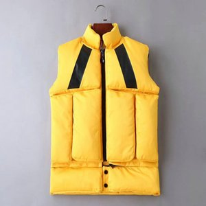 Wholesale 2019 French New Designer Men Women Winter Down Vest Classic Feather Down Jacket Casual Vests Thick Coat Designer Jackets Size M XL