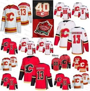 2019 Calgary Flames Customize Heritage Classic 13 Johnny Gaudreau Matthew Tkachuk James Neal Mark Giordano Mikael Backlund Hockey Jerseys