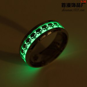 Cross-border special for night light punisher games surrounding rings European and American fashion jewelry