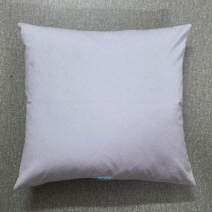 30pcs All Size Plain White Color Pure Cotton Canvas Pillow Cover With Hidden Zipper For Custom DIY Print Blank Cotton Pillow Cover Any Color